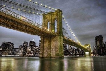plakat NEW YORK - BRIDGE 2