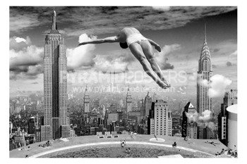 plakat NEW YORK - DIVE