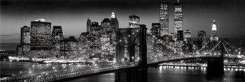 plakat NEW YORK - MANHATTAN BLACK - BERENHOLTZ