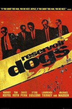 plakat RESERVOIR DOGS (WŚCIEKŁE PSY) - WALK