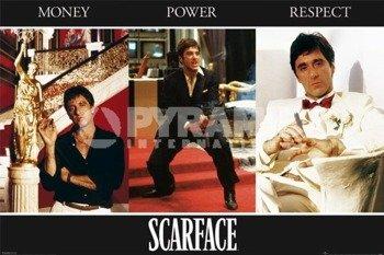 plakat SCARFACE - TRIPTYCH