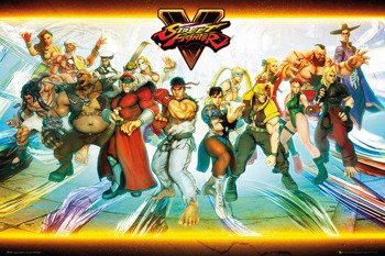 plakat STREET FIGHTER 5 - CHARACTERS