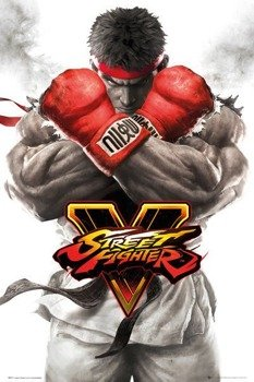 plakat STREET FIGHTER 5 - RYU KEY ART
