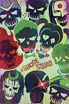 plakat SUICIDE SQUAD - SKULLS