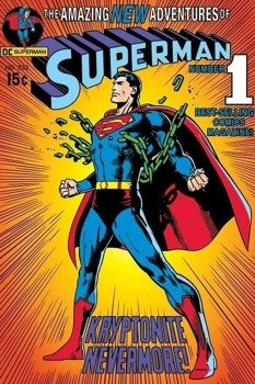 plakat SUPERMAN - KRYPTONITE