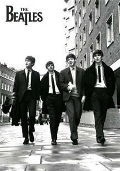 plakat THE BEATLES - IN LONDON
