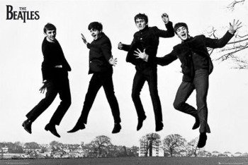 plakat THE BEATLES - JUMP