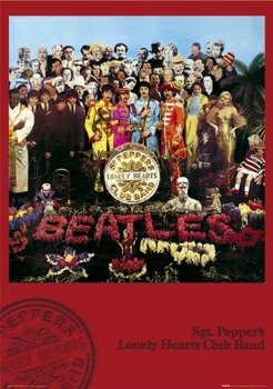 plakat THE BEATLES - SGT. PEPPER'S