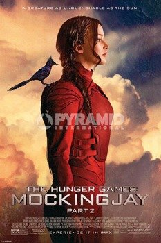 plakat THE HUNGER GAMES - MOCKINGJAY