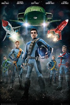 plakat THUNDERBIRDS ARE GO - GROUP