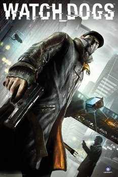 plakat WATCH DOGS - COVER