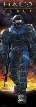 plakat na drzwi HALO REACH - CARTER