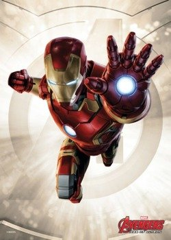 plakat z metalu MARVEL - IRON MAN