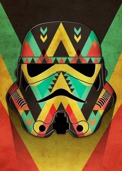 plakat z metalu STAR WARS - ORGANIC