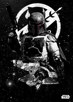 plakat z metalu STAR WARS - SLAVE