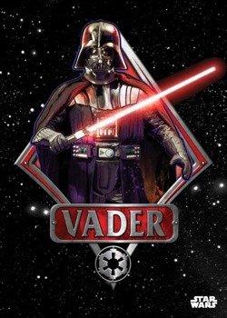 plakat z metalu STAR WARS - VADER