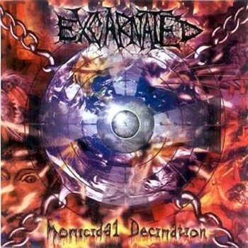 płyta CD: EXCARNATED - HOMICIDAL DECIMATION