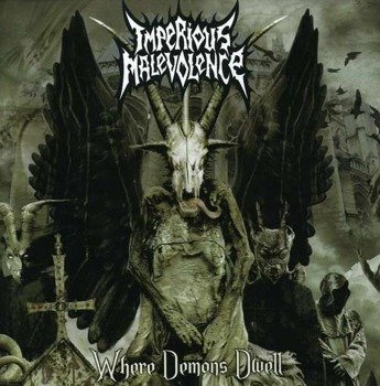 płyta CD: IMPERIOUS MALEVOLENCE - WHERE DEMONS DWELL