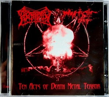 płyta CD: PUTRIDITY / INFATUATION OF DEATH split (RM666 001)