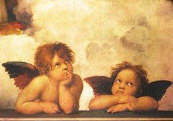 pocztówka RAPHAEL - ANGELS