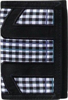 portfel ETNIES - SUITES PRINTED VELCERO (BLACK) 09'
