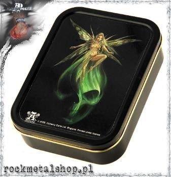 pudełko na tytoń - karty ABSINTHE FAIRY