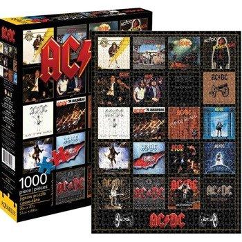 puzzle AC/DC - DISCOGRAPHY,  1000szt.