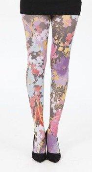 rajstopy Freesia Printed Tights - Multicoloured
