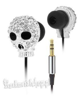 słuchawki ROCK DADDY - SKULL SILVER (92009-003)