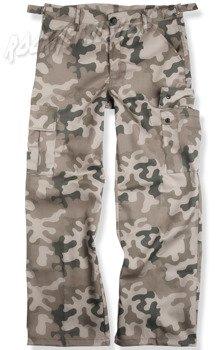 spodnie bojówki CARGO KHAKI WOODLAND