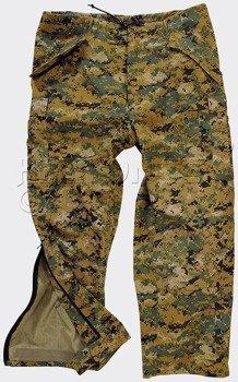 spodnie bojówki ECWCS TROUSERS GEN II DIGITAL WOODLAND