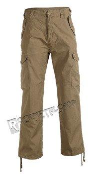 spodnie bojówki HUDSON RIPSTOP TROUSER camel
