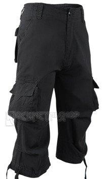 spodnie bojówki URBAN LEGEND 3/4 - BLACK