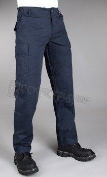 spodnie bojówki US BDU FELDHOSE R/S DK.BLAU