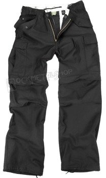 spodnie bojówki US FELDHOSE M65 NYCO SCHWARZ