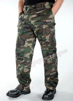 spodnie bojówki US RANGER HOSE woodland