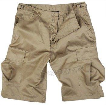 spodnie bojówki krótkie BERMUDA T/C KHAKI