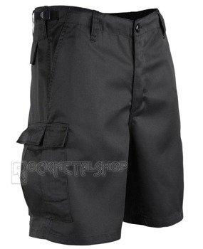 spodnie bojówki krótkie COMBAT SHORTS - BLACK
