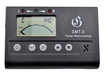"""stroik """"3w1"""": tuner CHROMATYCZNY / METRONOM / KAMERTON - GLEAM GMT-3"""