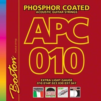 struny do gitary akustycznej BOSTON APC-010 PHOSPHOR BRONZE /010-047/