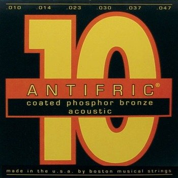 "struny do gitary akustycznej BOSTON PHC-010 ""ANTIFRIC"" Phosphor Bronze /010-047/"