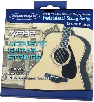 struny do gitary akustycznej CRAFTMAN W332 /011-052/