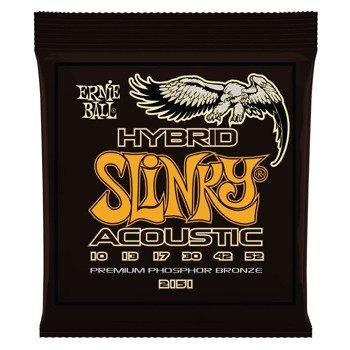 struny do gitary akustycznej ERNIE BALL EB2151 Phosphor Bronze Slinky Hybrid /010-052/
