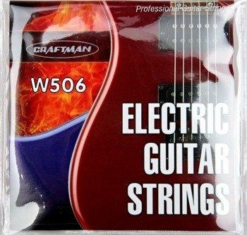struny do gitary elektrycznej CRAFTMAN NICKEL WOUND W506-L /010-046/