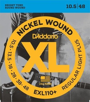 struny do gitary elektrycznej D'ADDARIO EXL110+ /0105-048/