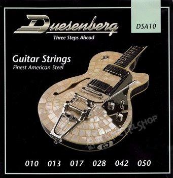 struny do gitary elektrycznej DUESENBERG DSA10 /010-050/