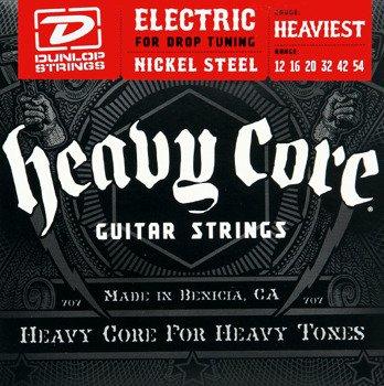 struny do gitary elektrycznej DUNLOP DHCN1254 Heavy Core /012-054/