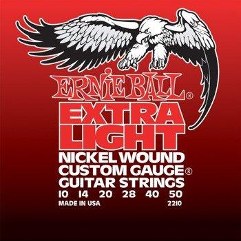 struny do gitary elektrycznej ERNIE BALL Nickel Wound EB2210 /010-050/