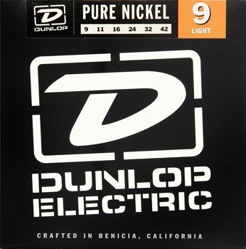 struny do gitary elektrycznej JIM DUNLOP - NICKEL WOUND /009-042/ Light (DEN0942)