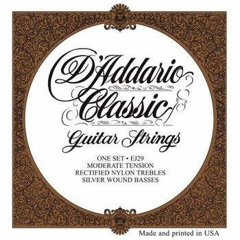 struny do gitary klasycznej D'ADDARIO - CLASSIC EJ29